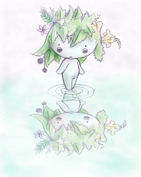Pixie Wisp Reflection