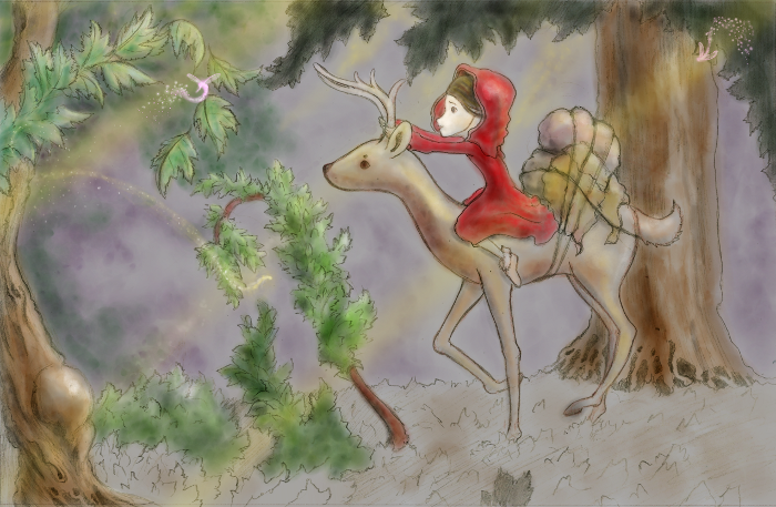 lil red riding hoodlumtwisted fairy tale essay
