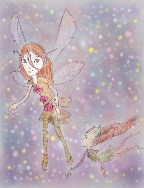 Flying Sylfan Fairy